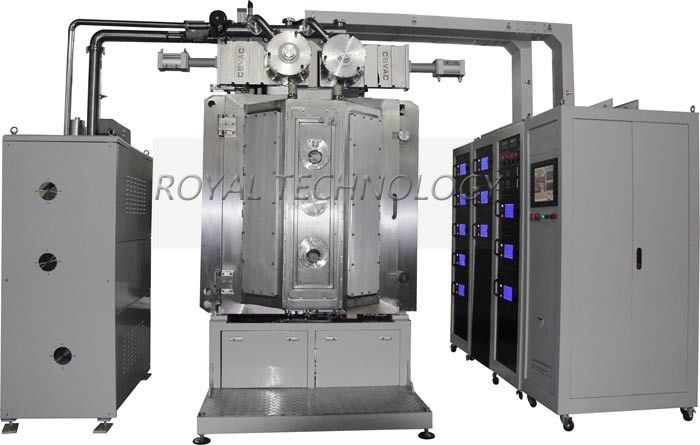 Lab. Multi-sources deposition Machine, High Film Uniformity  Vacuum Coating Equipment